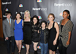 "WEST HOLLYWOOD, CA. - February 22: Miles Heizer, Sarah Ramos, Monica Potter, Mae Whitman, Max Burkholder, Erika Christensen and Joy Bryant attend the Los Angeles premiere of ""Parenthood"" at the Directors Guild Theatre on February 22, 2010 in West Hollywood, California."