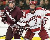 Matt Firman (Colgate - 15), Danny Fick (Harvard - 7) - The Harvard University Crimson defeated the visiting Colgate University Raiders 4-2 on Saturday, November 12, 2011, at Bright Hockey Center in Cambridge, Massachusetts.