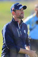 Webb Simpson (Team USA) on the 10th fairway during Saturday Foursomes at the Ryder Cup, Le Golf National, Ile-de-France, France. 29/09/2018.<br /> Picture Thos Caffrey / Golffile.ie<br /> <br /> All photo usage must carry mandatory copyright credit (&copy; Golffile | Thos Caffrey)