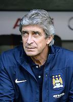 Fussball  International   Audi Cup 2013  Saison 2013/2014   31.07.2013 Manchester City - AC Mailand Trainer Manuel Pellegrini (Manchester City)