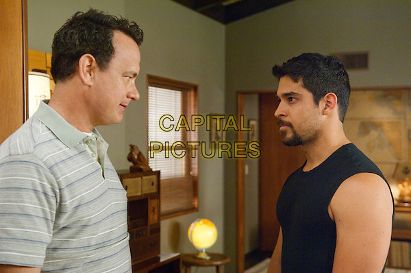 Tom Hanks, Wilmer Valderrama<br /> in Larry Crowne (2011) <br /> *Filmstill - Editorial Use Only*<br /> CAP/NFS<br /> Image supplied by Capital Pictures