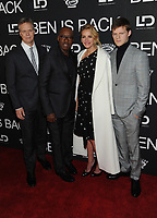NE WYORK, NY - DECEMBER 3: Peter Hedges, Courtney B. Vance, Julia Roberts and Lucas Hedges at the New York Premiere Of Ben Is Back at AMC Loews Lincoln Square in New York City on December 3, 2018. <br /> CAP/MPI/JP<br /> &copy;JP/MPI/Capital Pictures