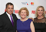 Scott Marshall, Barbara Marshall and Kathleen Marshall attend the Garry Marshall Tribute Performance of 'Pretty Woman:The Musical' at the Nederlander Theatre on August 1, 2018 in New York City.