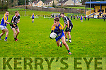 In Action Ardferts and Ballymac's Micheal Reidy in Senior Football League Div 3 Round 11 Ballymacelligott V Ardfert at Ballymacelligott GAA on Sunday