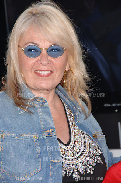 "Actress ROSEANNE BARR at the world premiere of ""Superman Returns"" in Los Angeles..June 21, 2006  Los Angeles, CA.© 2006 Paul Smith / Featureflash"