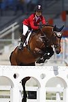 Reiko Takeda (JPN),<br /> AUGUST 14, 2016 - Equestrian : <br /> Jumping Individual Qualification <br /> at Olympic Equestrian Centre <br /> during the Rio 2016 Olympic Games in Rio de Janeiro, Brazil. <br /> (Photo by Koji Aoki/AFLO SPORT)