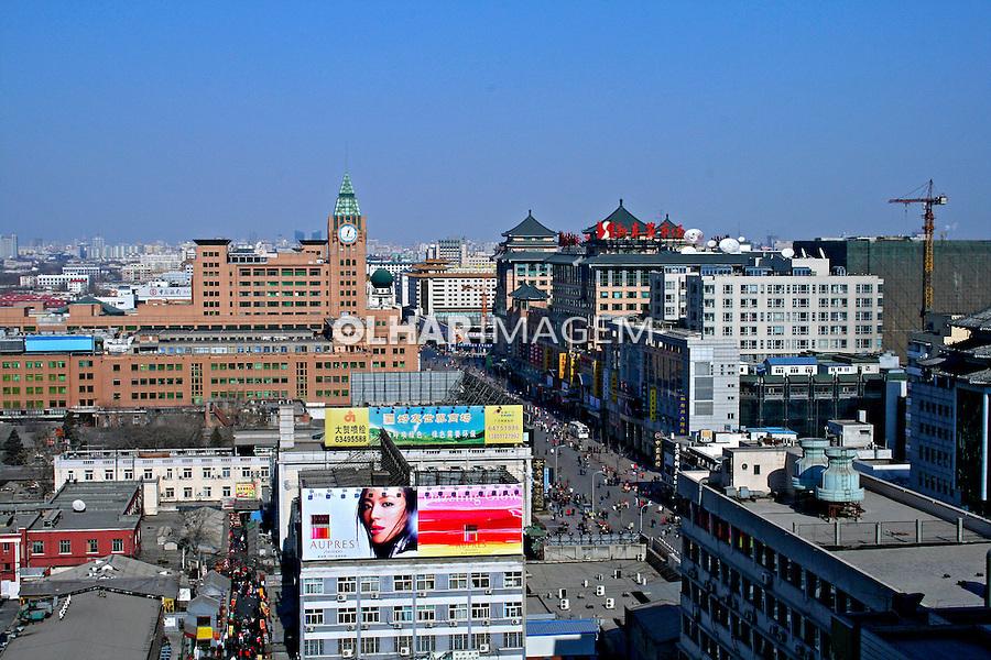 Cidade de Pequim. China. 2007. Foto de Flávio Bacellar.
