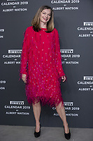 "Cordula Reyer attends the gala night for official presentation of the Presentation of the Pirelli Calendar 2019 ""The cal"" held at the Hangar Bicocca. Milan (Italy) on december 5, 2018. Credit: Action Press/MediaPunch ***FOR USA ONLY***"