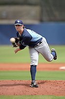 Tampa Bay Rays pitcher Jeff Malm (29) during an Instructional League game against the Minnesota Twins on September 16, 2014 at Charlotte Sports Park in Port Charlotte, Florida.  (Mike Janes/Four Seam Images)
