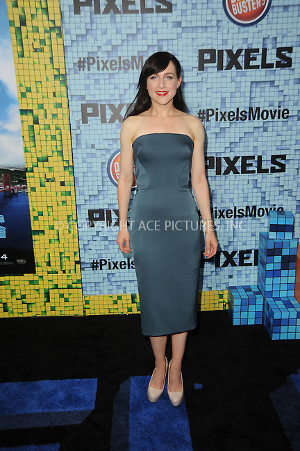 WWW.ACEPIXS.COM<br /> July 18, 2015 New York City<br /> <br /> Lena Hall attending the 'Pixels' Premiere at Regal E-Walk on July 18, 2015 in New York City.<br /> <br /> Please byline: Kristin Callahan/ACE <br /> <br /> <br /> Tel: (646) 769 0430<br /> e-mail: info@acepixs.com<br /> web: http://www.acepixs.com