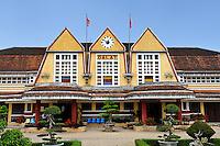 Da Lat Railway Station is the oldest railway station in Vietnam. Da Lat, Vietnam