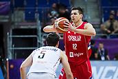 7th September 2017, Fenerbahce Arena, Istanbul, Turkey; FIBA Eurobasket Group D; Belgium versus Serbia; Dragan Milosavljevic of Serbia in action during the match