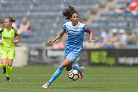 Bridgeview, IL - Sunday June 04, 2017:  during a regular season National Women's Soccer League (NWSL) match between the Chicago Red Stars and the Seattle Reign FC at Toyota Park.