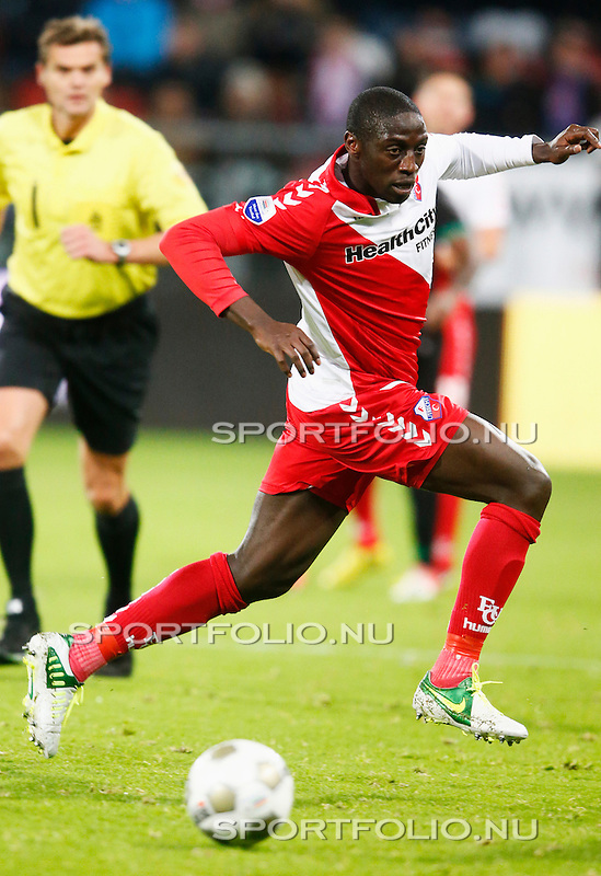 Nederland, Utrecht, 26 oktober 2012.Eredivisie.Seizoen 2012-2013.FC Utrecht-FC Groningen (1-0).Jacob Mulenga van FC Utrecht
