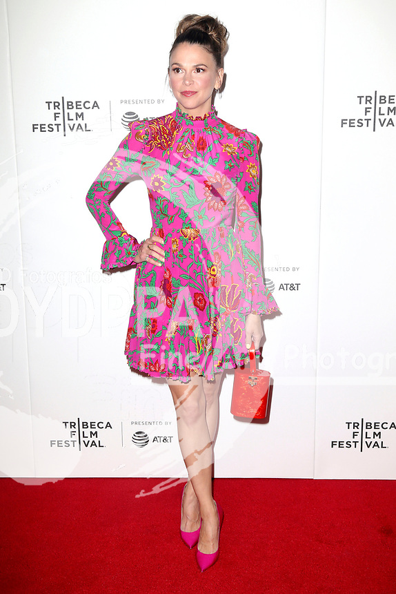 Sutton Foster bem Screenuing der TV-Serie 'Younger' auf dem 18. Tribeca Film Festival 2019 in den Spring Studios. New York, 25.04.2019