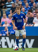 Çağlar Söyüncü of Leicester City during the Premier League match between Leicester City and Wolverhampton Wanderers at the King Power Stadium, Leicester, England on 10 August 2019. Photo by Andy Rowland.