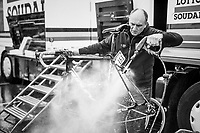 Big post-race bike clean at the finish of the last of the Spring Classics<br /> <br /> 103rd Li&egrave;ge-Bastogne-Li&egrave;ge 2017 (1.UWT)<br /> One Day Race: Li&egrave;ge &rsaquo; Ans (258km)