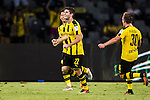 Borussia Dortmund midfielder Christian Pulisic celebrating his score during the match against Manchester City FC during the 2016 International Champions Cup China match at the Shenzhen Stadium on 28 July 2016 in Shenzhen, China. Photo by Victor Fraile / Power Sport Images