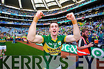 Paul Geaney. Kerry players celebrate their victory over Donegal in the All Ireland Senior Football Final in Croke Park Dublin on Sunday 21st September 2014.
