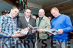 At the Na Gaeil Club Race Night fundraiser on Saturday were Phillip Dewey, Tim Lynch, Eddie Sheehy and Liam Kingston
