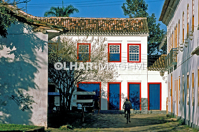 Cidade de Parati. Rio de Janeiro. 1998. Foto de Juca Martins.
