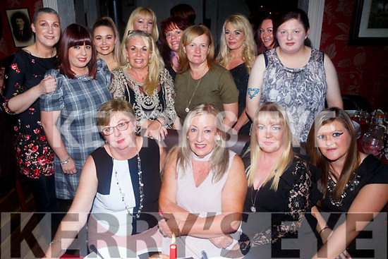 Amanda Keane, Castleisland, who's marring Andrew Kelly on 28th October celebrating her hen party with friends at Cassidy's on Saturday