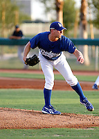 Aaron Miller - AZL Dodgers - 2009 Arizona League - Miller, drafted by the Dodgers in the supplemental 1st round of the 2009 draft, makes his professional debut in a game against the Mariners at Camelback Ranch, Glendale, AZ - 07/15/2009.Photo by:  Bill Mitchell/Four Seam Images..