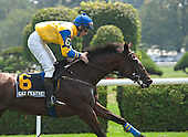 Cat Feathers wins Mrs. Odgen Phipps Stakes - 8/09/12