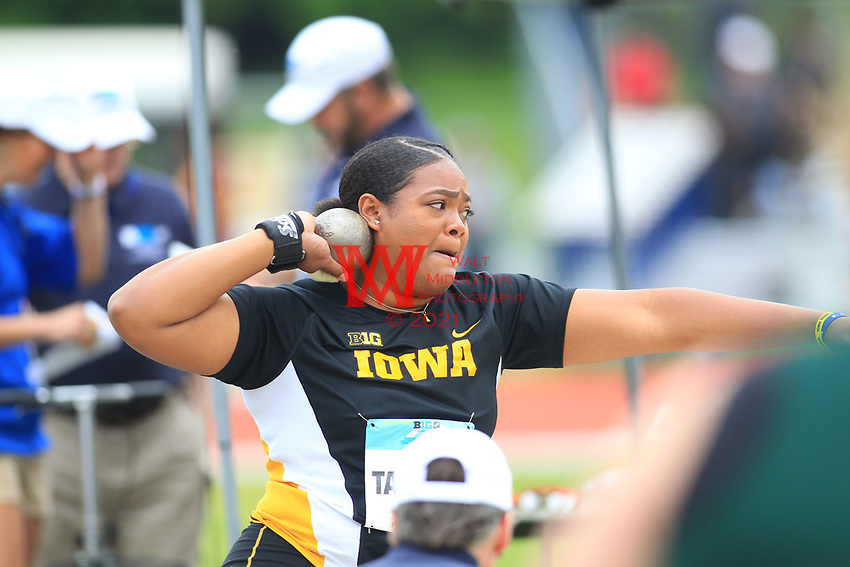 The University of Iowa competes on the final day of the 2017 Big Ten Championships in Happy Valley, PA. Hosted by Penn State University, May 14, 2017