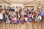 BIRTHDAY SURPRISE: May O'Rahilly, Chutehall (seated 4th left) got a very big surprise when a very large group of family and friends gathered to celebrate her 60th birthday at the Earl of Desmond Hotel on Saturday..