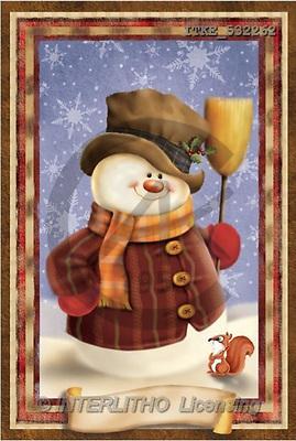 Isabella, CHRISTMAS SANTA, SNOWMAN, paintings(ITKE532262,#X#) Weihnachtsmänner, Schneemänner, Weihnachen, Papá Noel, muñecos de nieve, Navidad, illustrations, pinturas