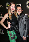 Tiffany Haas and Michael Wartella  attending the 10th Anniversary Celebration Party for 'Wicked'  at the Edison Ballroom on October 30, 2013  in New York City.