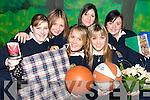 HELPING HAND: Some of the Fifth Year students from St. Joseph's Secondary School in Abbeyfeale who raised C¨2,500 in a Charity Jumble Sale in the school last week.L/r. Sharon Lane (Abbeyfeale), Tracey McCarthy (Lyreacrompane), Ciara Mangan (Abbeyfeale), Maria Gleeson (Templeglantine), Leona Murphy (Templeglantine) and Denise O'Grady (Templeglantine).
