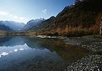 Alpine Lake, Western Caucasus, Russia