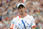 Nicolas Mahut (FRA) defeats Andy Murray (GBR) 6-3, 6-7, 7-6