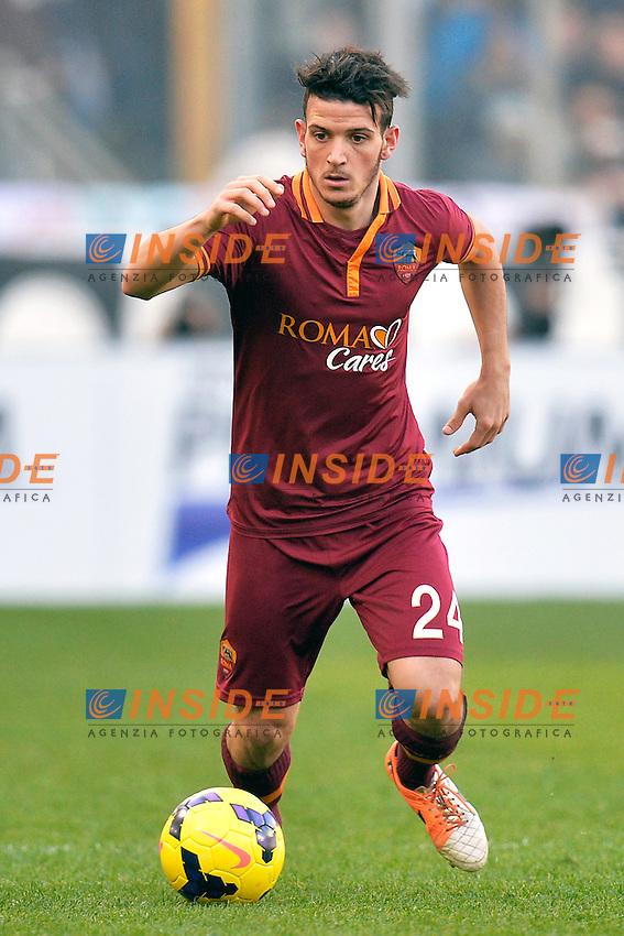 Alessandro Florenzi Roma <br /> Roma 09-02-2014 Stadio Olimpico - Football Calcio Serie A 2013/2014 Lazio - As Roma Foto Andrea Staccioli / Insidefoto