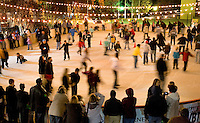 The annual ice skating rink that appears each winter in Uptown Charlotte has become a favorite tradition of many residents.