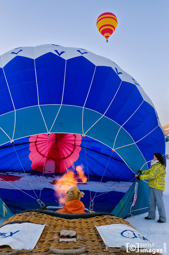 34th International Balloon Festival of Château-d'Oex