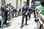 Real Madrid's Alvaro Morata arrives to Crystal Gallery of the Palacio de Cibeles in Madrid, May 22, 2017. Spain.<br /> (ALTERPHOTOS/BorjaB.Hojas)