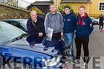 Tevor O'Callaghan, Patrick O'Leary, Eoghan McCarthy and Iarla McCarthy Killarney at the start of the Deja Vú Rally in Killarney on Sunday