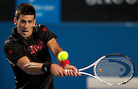Novak Djokovic (SRB) (3) against  Daniel Gimeno-Traver (ESP) in the First Round of the Mens Singles. Djokovic beat  Gimeno-Traver 6-3 6-4 6-4.International Tennis - Australian Open Tennis - Tuesday 19 Jan 2010 - Melbourne Park - Melbourne - Australia ..© Frey - AMN Images, 1st Floor, Barry House, 20-22 Worple Road, London, SW19 4DH.Tel - +44 20 8947 0100.mfrey@advantagemedianet.com