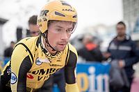 Primoz Roglic (SVK/Jumbo-Visma) at the morning iTTcourse recon<br /> <br /> preparations for Stage 9 (ITT): Riccione to San Marino (34.7km)<br /> 102nd Giro d'Italia 2019<br /> <br /> ©kramon
