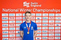 Picture by Allan McKenzie/SWpix.com - 14/12/2017 - Swimming -Swim England Winter Champs - Ponds Forge International Sports Centre - Sheffield, England - Matthew Richards takes gold in the mens open 200m freestyle.