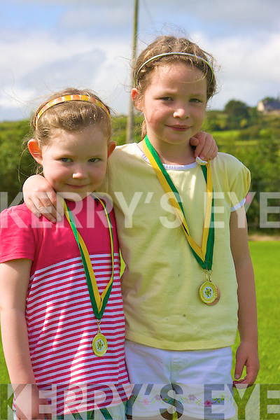 Grace & Ruth Cahile  Pictured at the Knocknagoshel Festival on Saturday.