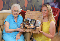 L-R Constance Skinner with Liz Stickler from Tesco