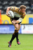 PICTURE BY VAUGHN RIDLEY/SWPIX.COM - Rugby League - Super League - Hull FC v Wigan Warriors - KC Stadium, Hull, England - 22/04/12 - Wigan's Josh Charnley.