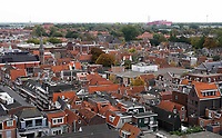 Nederland  Alkmaar -  Oktober 2018. Alkmaar. Zuid gezien vanaf de Grote Kerk.. Foto Berlinda van Dam / Hollandse Hoogte