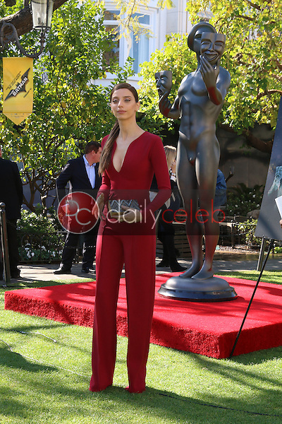 Angela Sarafyan<br /> at the Greet the Actor Statue - SAG Event, The Grove, Los Angeles, CA 01-25-17<br /> David Edwards/DailyCeleb.com 818-249-4998