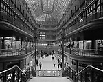 The Arcade in Cleveland, Ohio, looking south toward Euclid Avenue, 1966
