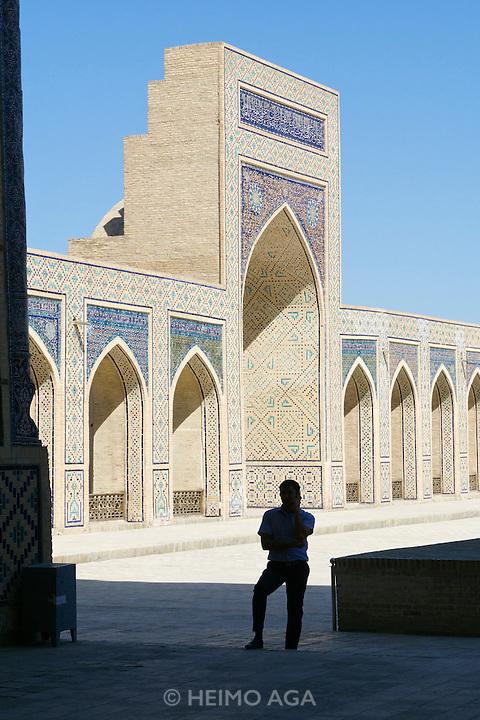 Uzbekistan, Bukhara. Kalon Ensemble.